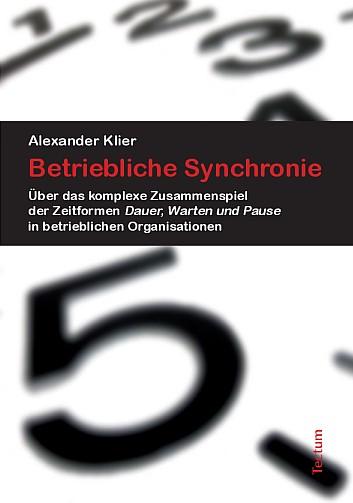 Tectum - Buchcover Betrieblilche Synchronie (Titel)
