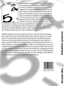 Tectum - Buchcover Betriebliche Synchronie (Rückseite)