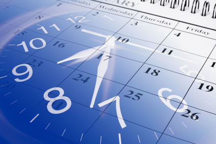 Fotolia 11645880 - Calendar and Clock