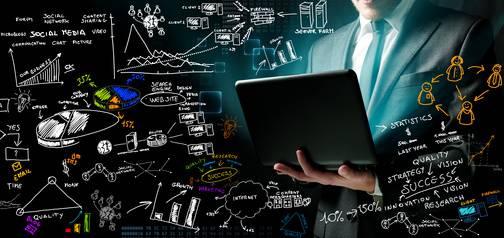 Fotolia 41939321 - Businessman and New Ideas