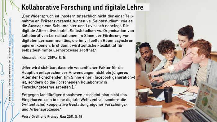Folie 37 (34) - Kollaborative Forschung und digitale Lehre