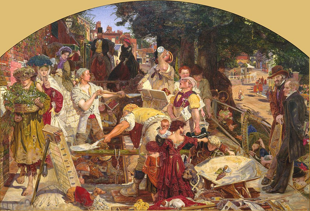 Bild: Ford Madox Brown - Work (Google Art Project)