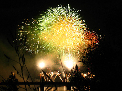 Was wird wohl 2013 bringen? Da ich kein Hellseher bin, kann ich es natürlich nicht sagen. Aber positiv gestimmt bin ich nicht.Bild: Parapente - Feuerwerk in Concepcion 2007. CC 3.0 BY-SA.