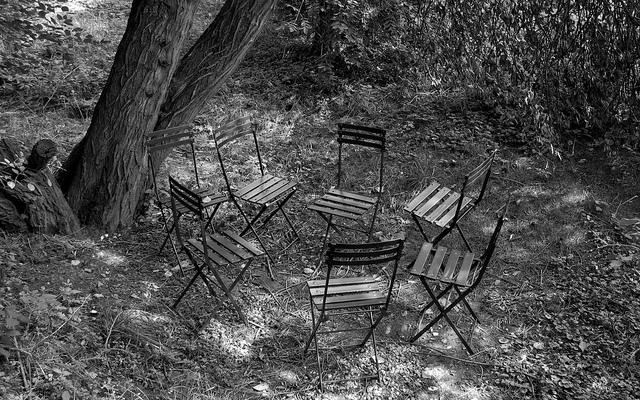 Bild: glasseyes view - stuhlkreis auf Flickr. Unter den Bedingungen der Creative Commons (BY-SA).